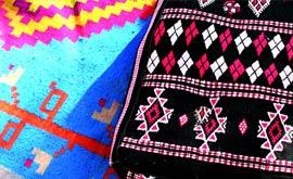Weaving and carpets